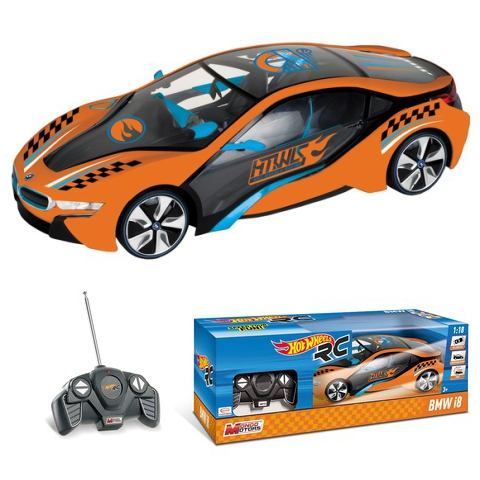 Rc Hot Wheels Bmw I8 Auto Na Daljinsko Upravljanje 1 18 Mondo
